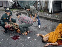 Buddhists killed in southern Thailand by Muslim terrorists